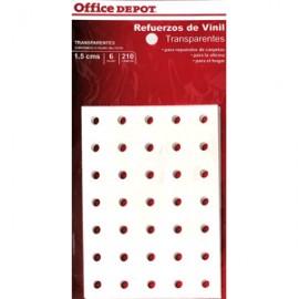 REFUERZOS PARA CARPETA OFFICE DEPOT TRANSPAR C/210 - Envío Gratuito