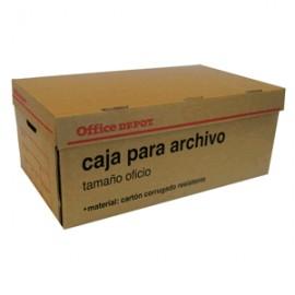 CAJA PARA ARCHIVO OFFICE DEPOT KRAFT OFICIO - Envío Gratuito
