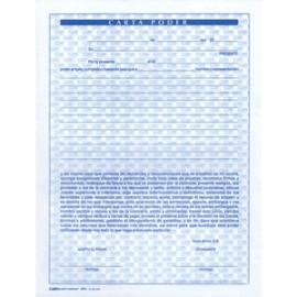 CARTA PODER OFFICE DEPOT 50 HOJAS 1 BLOCK - Envío Gratuito