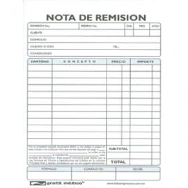 REMISION 1/4 CARTA CGRAFIX AUTOCOPIANTE 3 PAQUETES - Envío Gratuito