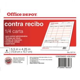 CONTRARECIBO OFFICE DEPOT - Envío Gratuito