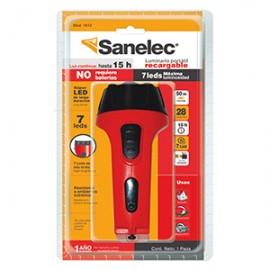 LINTERNA RECARGABLE SANELEC 7 LEDS - Envío Gratuito