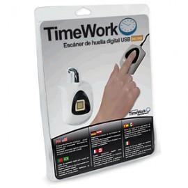 ESCANEADOR HUELLA DIGITAL APC PARA PC TIME WORK - Envío Gratuito