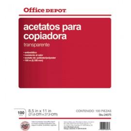 ACETATO PARA COPIADORA AOD CP OFFICE DEPOT CON 100 - Envío Gratuito