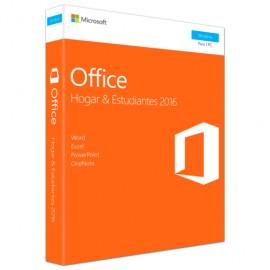OFFICE 2016 MICROSOFT PC H&S NUEVO EMPAQUE - Envío Gratuito