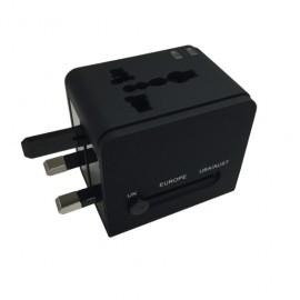 ADAPTADOR UNIVERSAL SPECTRA (1 ENTRADA, 2 USB) - Envío Gratuito