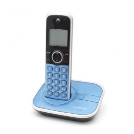 TELEFONO INALAMBRICO MOTOROLA AZUL - Envío Gratuito