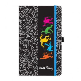 CUADERNO TRAVELER NOTE KEITH HARRING - Envío Gratuito