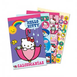 BLOCK DE STICKERS KITTY - Envío Gratuito
