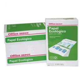 CAJA PAPEL RECICLADO 100 OFFICE DEPOT CARTA - Envío Gratuito