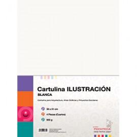 CARTULINA ILUSTRACION CUARTOS - Envío Gratuito