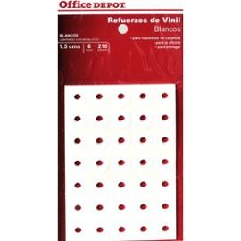 REFUERZOS PARA CARPETA OFFICE DEPOT BLANCO C/210 - Envío Gratuito
