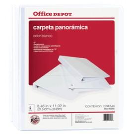CARPETA ARILLO REDONDO OFFICE DEPOT BANCA CON 2 PQ - Envío Gratuito