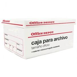 CAJA PARA ARCHIVO OFFICE DEPOT PLASTICO TAM.OFICIO - Envío Gratuito
