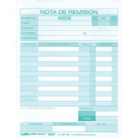 REMISION 1/4 AUTOCOPIANTE 3 PAQUETES CON 22 PIEZAS - Envío Gratuito