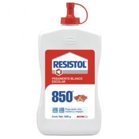 PEGAMENTO BLANCO RESISTOL 850 FRASCO 500 GRAMOS - Envío Gratuito