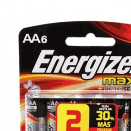 PILA ENERGIZER MAX AA PAQUETE CON 4 - Envío Gratuito