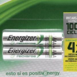 PILA ENERGIZER RECARGABLE AAA - Envío Gratuito