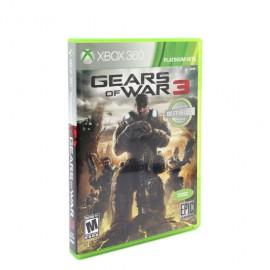 JUEGO GEARS OF WAR 3 XBOX 360 - Envío Gratuito
