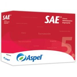 ASPEL SAE 5.0/1 LICENCIA 12 MESES - Envío Gratuito