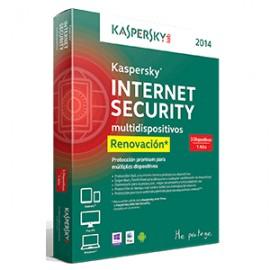 KASPERSKY RENOVACION INT SEC 3 US - Envío Gratuito