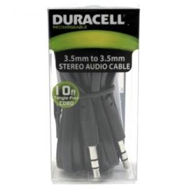 CABLE AUDIO 3.5MM 3M DURACELL - Envío Gratuito