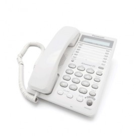 TELEFONO ALAMBRICO PANASONIC KXTS108MEW - Envío Gratuito