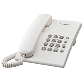 TELEFONO ALAMBRICO PANASONIC KXTS550MEW - Envío Gratuito