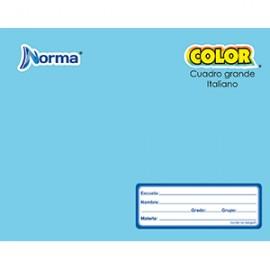 CUADERNO ITALIANA COSIDO CUADRO GDE NORMA 100 HOJA - Envío Gratuito